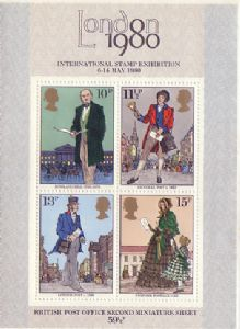 1979 MS1099 Rowland Hill Miniature Sheet